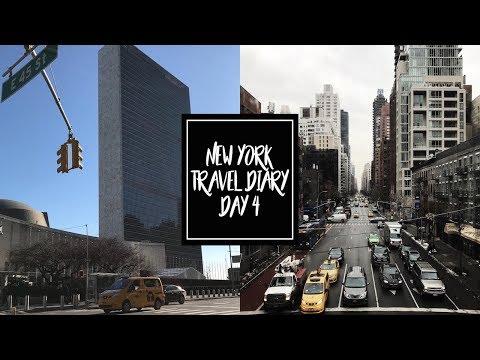 NYC VLOG #4 | ONU, GUGGENHEIM MUSEUM & ROOSEVELT ISLAND ♡