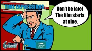 VOCABULARY: How to use time expressions with in, on and at