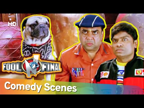 Best Hindi Comedy Scenes of  Superhit Movie Fool N Final  | Johny Lever | Paresh Rawal | Sunny Deol