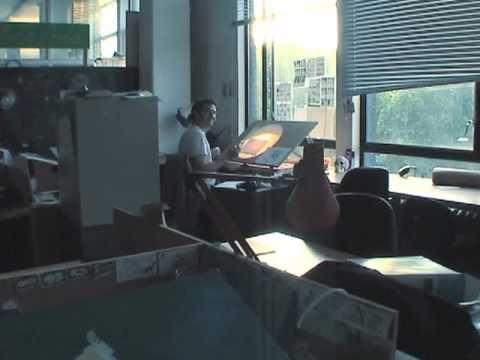 Royal College of Art animators at work