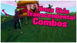 SHOWING A - NOUVEAU - TRANSCENDENTAL SKIN - COMBOS FORTNITE (FORTNITE)