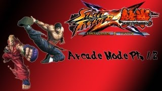 Street Fighter X Tekken Arcade Mode Paul Law Pt 1 2