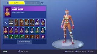 TRADING/SELLING RARE GINGER GUNNER FORTNITE ACCOUNT Assault Trooper,Candy Axe,(READ DESC)