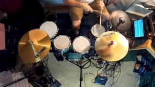 Beatles - Birthday (Drum & Percussion Karaoke)