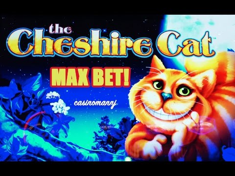 The Cheshire Cat Slot Bonus - MAX BET! - Slot Machine Bonus - 동영상