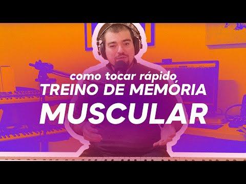 Como tocar rápido? Treino de memória muscular