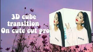 3D Cube Transition On Cute Cut  || JayLucas Edits
