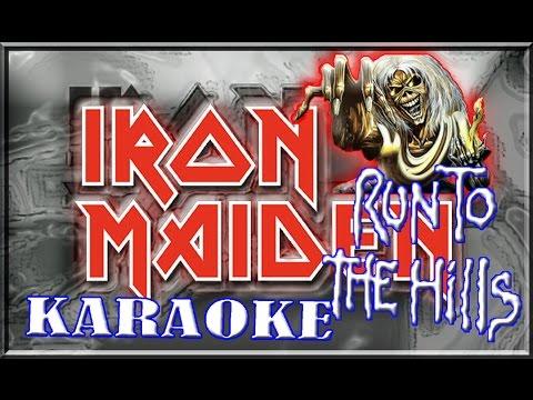 Iron Maiden * Karaoke Of Run To The Hills