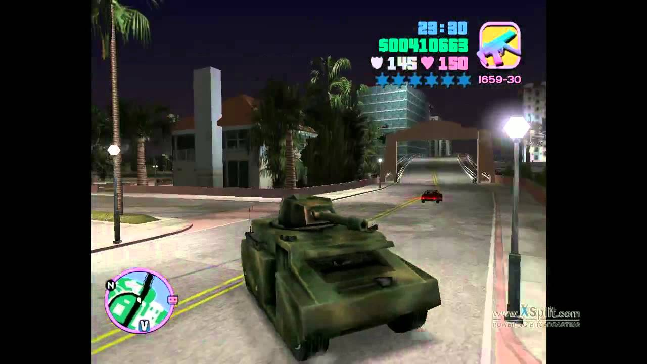 gtavice city super tank youtube
