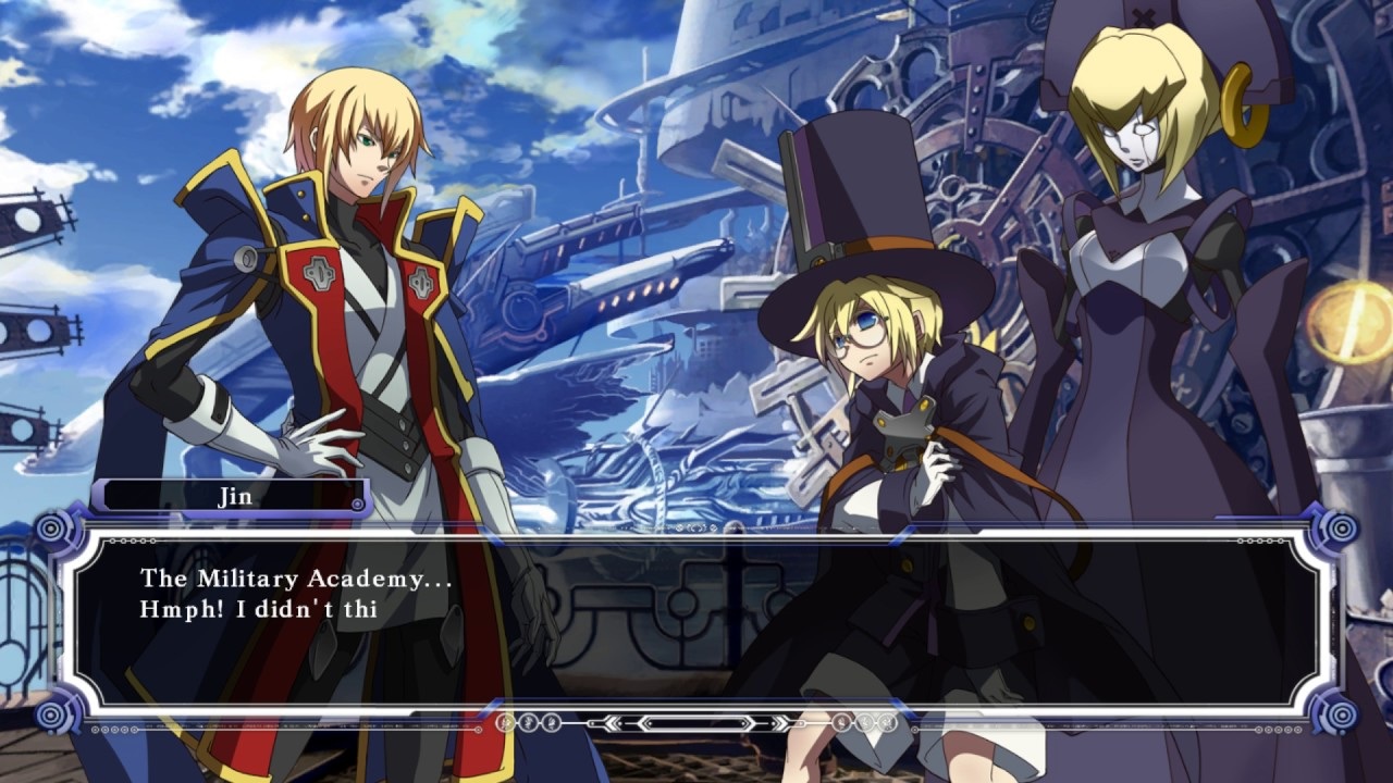 Blazblue Calamity Trigger: Story Mode: Jin Normal Ending - YouTube