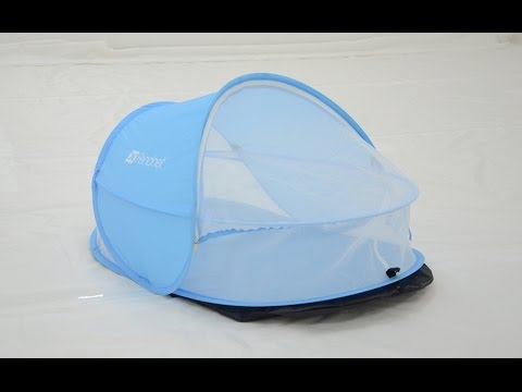 Infant travel crib bed pop up cot baby tent with mosquito net & Infant travel crib bed pop up cot baby tent with mosquito net ...