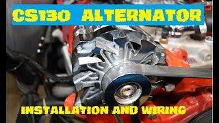 CS130 Alternator install & wiring - YouTubeYouTube