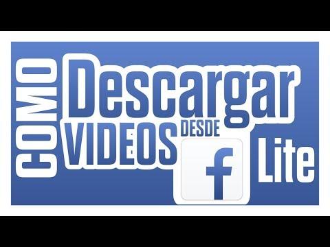 COMO DESCARGAR VIDEOS EN FACEBOOK LITE *Sin aplicaciones* / IROANDROID