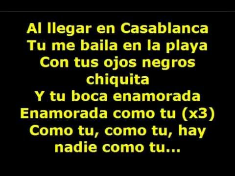 Gipsy Kings & Alabina - Eres Tu Lyrics