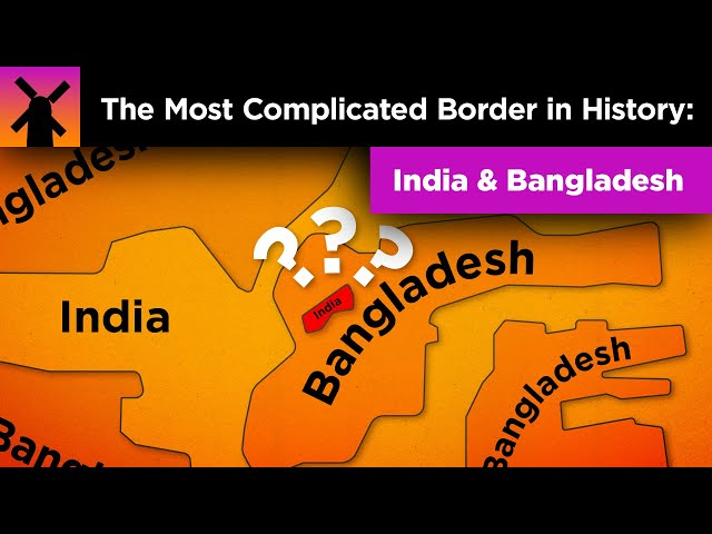 The Insane Complexity of the India/Bangladesh Border