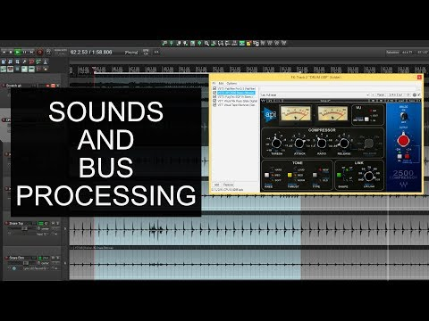 Mixing Rock Drums - Sounds And Basic Bus Processing