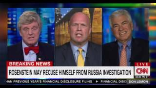 CNN Panel discussion on whether we are on the bring of a Watergate style Saturday Night Massacre