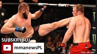 UFC FN 92: Marcin Tybura znokautował Viktora Pestę i odebrał bonus 50 tysięcy $