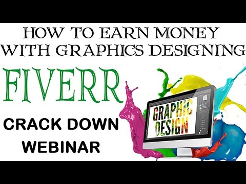 How to earn with Graphic Designing on fiverr in Urdu/Hindi