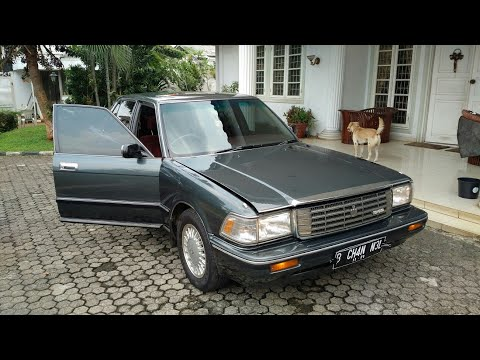 In Depth Tour Toyota Crown (Robot) S130 Royal Salon 2.0 A/T (1991) - Indonesia