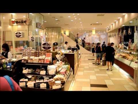 Du lich Tokyo part 3, Ginza, Ameyayokocho, underground shops Tokyo station