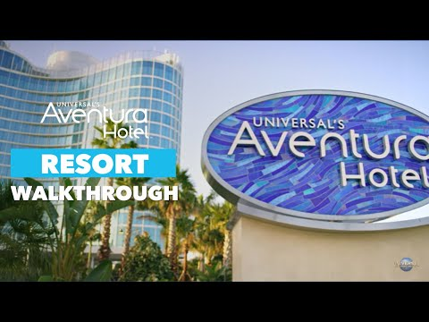 Exclusive Tour of Universal's Aventura Hotel