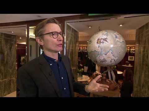 """ITV News : Bellerby & Co's """"World Like Nowhere Else"""" Globe for Royal Ascot"""
