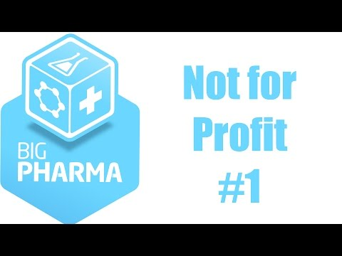Big Pharma 40 Not for Profit 1