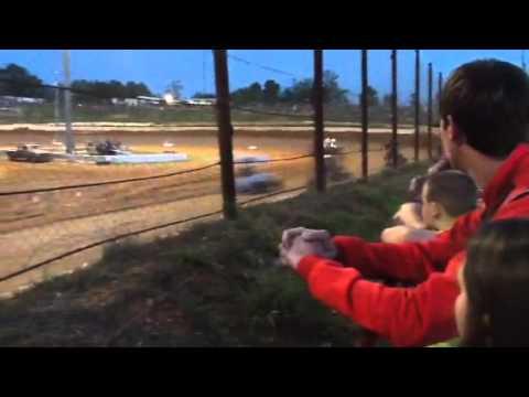 Gator Motorplex Heat Race Win