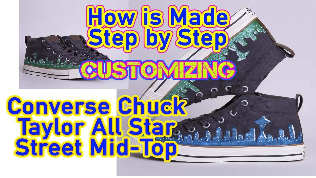 d34664d9bf9 DIY Converse (Chuck Taylor Custom) - YouTube