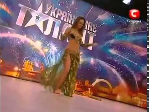 Ukraine's Got Talent - Beautiful belly dancer  - Katerina Patoka
