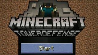 Minecraft Tower Defense Ep.1 - Stupid Ghasts