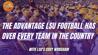 LSU Football | LSU's Cody Worsham: What LSU Football Has That No Other Team Can Offer In The Country