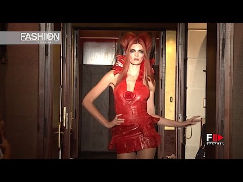 ERIC TIBUSH Haute Couture Autumn Winter 2011 2012 Paris - Fashion Channel