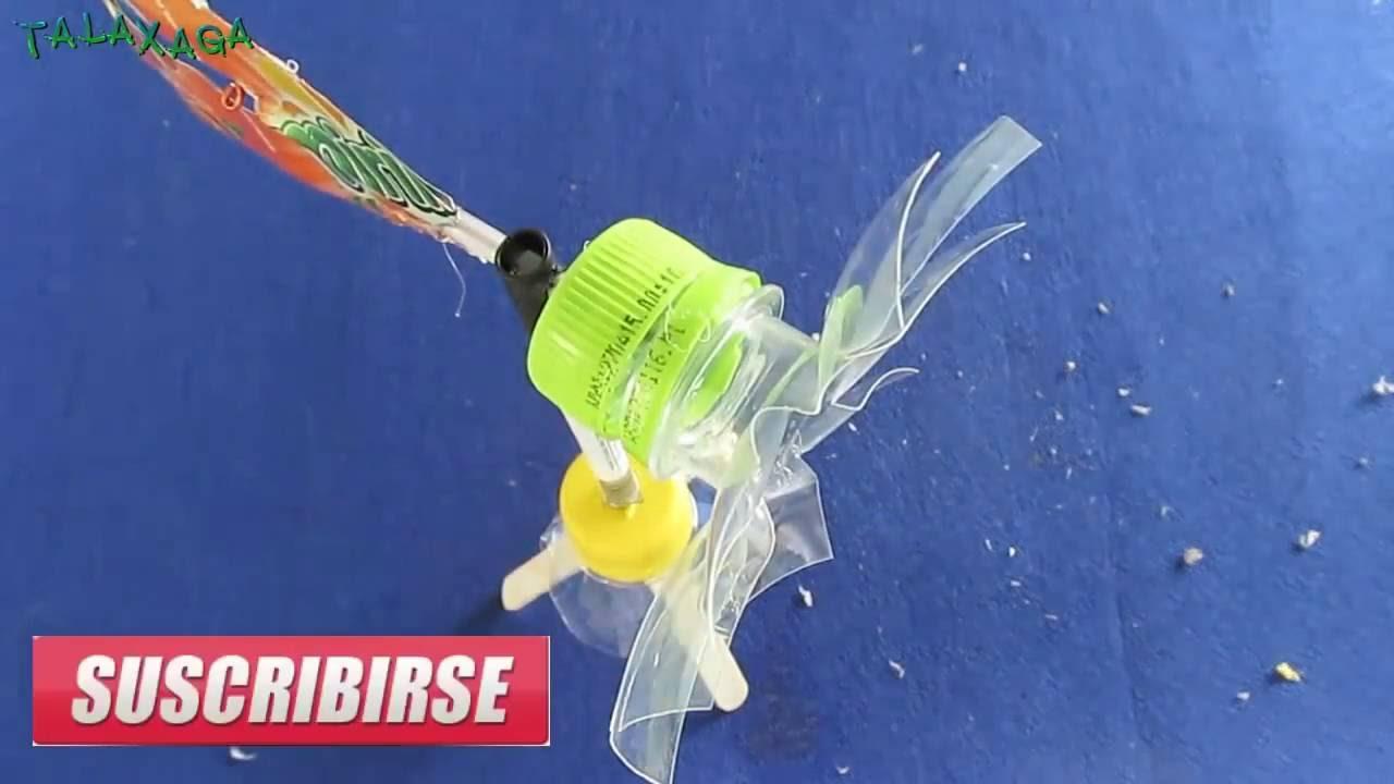 Как сделать вертушку из пластиковой фото 769