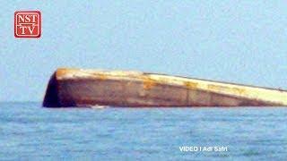 Capsized sand-dredger: SAR operation continues despite rough seas