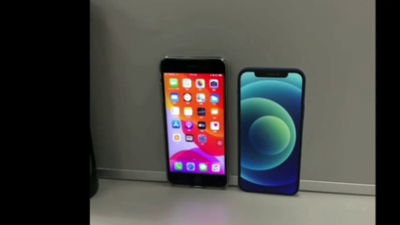 Iphone 12 Mini Vs Iphone 7 Plus Size Comparison It S Really Small And That S What She Said Youtube