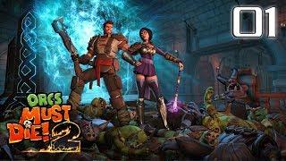 Let's Play Orcs Must Die 2 Co-Op [Part 1]