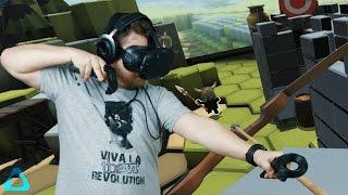 SOHA NEM VESZEM LE MAGAMRÓL! | The Lab - HTC Vive Demo