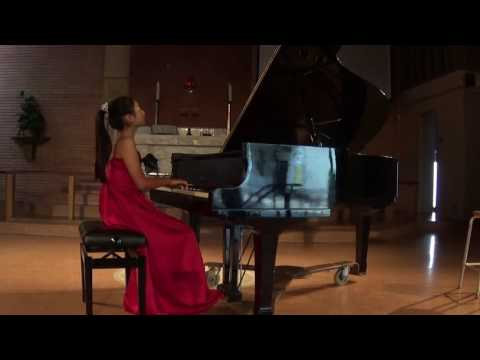 Sonata No.6 in D Major K284, 1st Movement(Alegro) By.Mozart Lina Hisada(13)