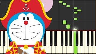 映画『ドラえもん のび太の宝島』より主題歌「ドラえもん」のピアノ演奏...
