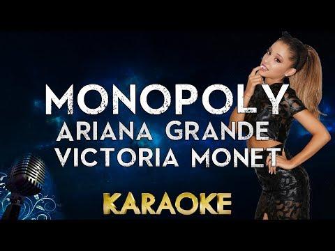 Ariana Grande and Victoria Monét - MONOPOLY Karaoke Instrumental