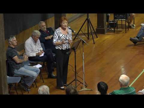 Pauline Hanson Public Forum on Norfolk Island October 20, 2016