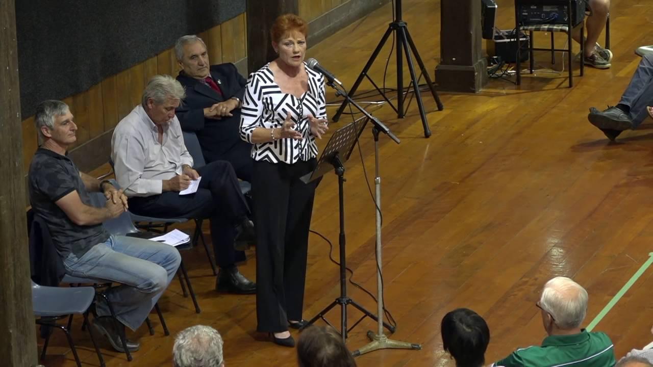 Pauline Hanson Norfolk Island