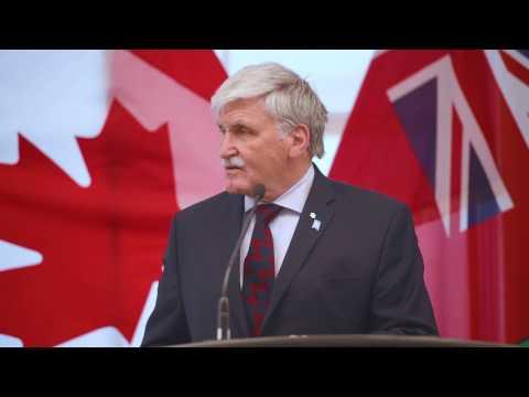 Futures Forum 2017 Keynote: Gen. Roméo Dallaire