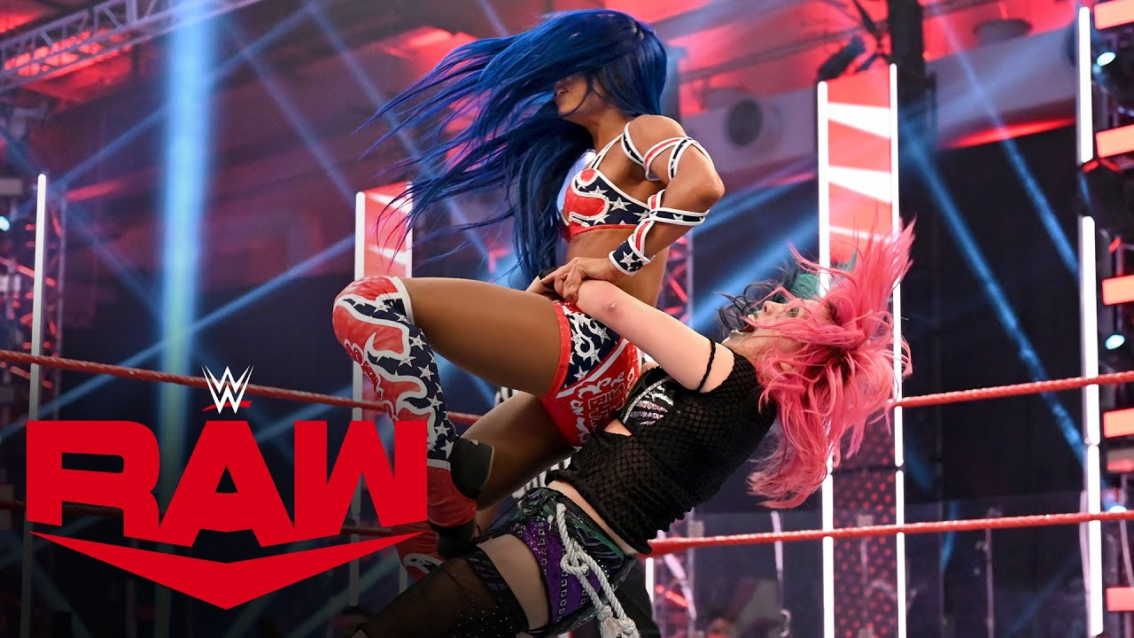 Asuka vs. Sasha Banks – Raw Women's Championship Match: Raw, July 27, 2020