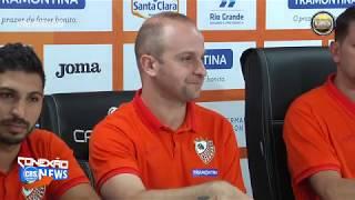 Coletiva de imprensa da temporada 2020 times de base da Carlos Barbosa Futsal ACBF
