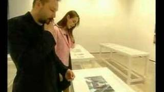 Juergen Teller: doing QA and showing the exhibits around