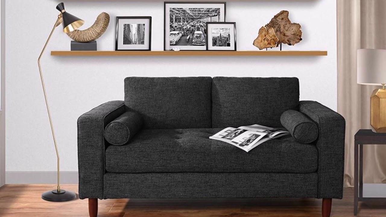 30 dark grey living room furniture  youtube