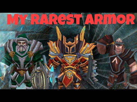 RAREST ARMOR IN ARCANE LEGENDS!! (My Rarest)